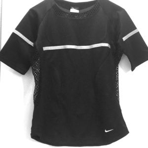 NEW Tag NIKE SPHERE DRY REFLECTIVE BLACK XS